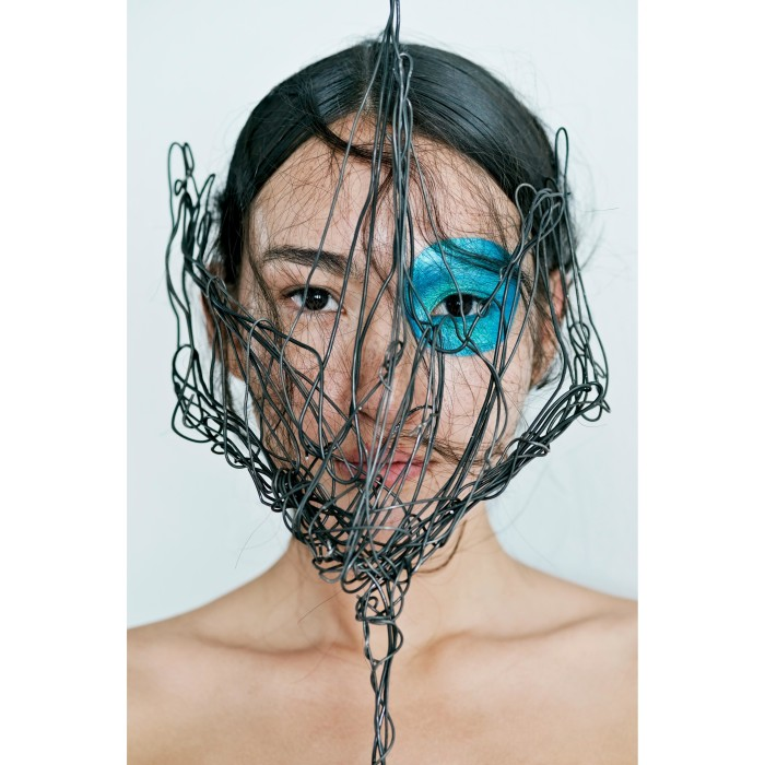 model: jassica reif @jassicareif c/o @megamodelagency mask by lara packheiser @larapackheiser foto by thomas rusch @thomasrusch #20mask20